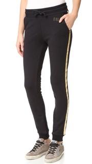 Спортивные брюки с золотистыми полосками Anine Bing
