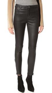 Классические кожаные брюки Anine Bing