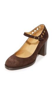 Туфли-лодочки Chaussures Heloise в стиле «Мэри Джейн» A.P.C.