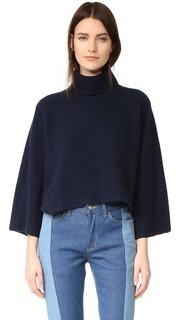 Укороченный свитер с высоким воротником Edition10