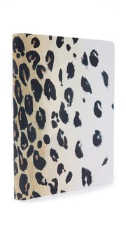 Блокнот на спирали с леопардовым принтом Kate Spade New York