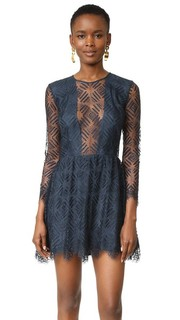 Кружевное мини-платье Michelle Mason