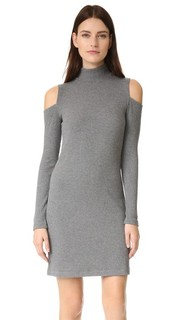 Трикотажное платье в рубчик Splendid