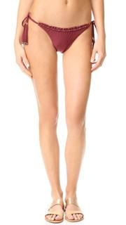 Плавки бикини Burgundy с завязками ViX Swimwear
