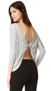Обтягивающий пуловер с перекрученной деталью Beyond Yoga