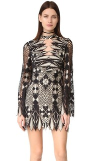 Кружевное мини-платье Deco Free People