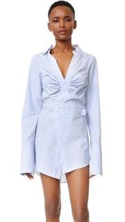 Платье-халат со сборками Jacquemus