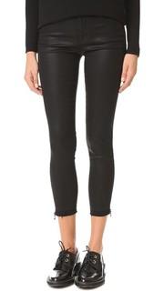 Укороченные джинсы-скинни Alana с высокой посадкой J Brand