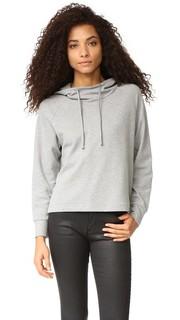 Объемный пуловер с капюшоном James Perse
