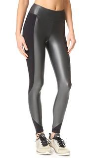 Укороченные леггинсы с округлыми швами Koral Activewear