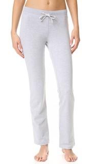 Пижамные брюки из пушистого флиса Love+Grace