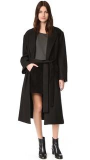 Пальто с поясом Oak