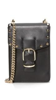 Байкерская сумка через плечо для телефона Rebecca Minkoff