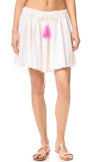 Мини-юбка со сборками Surf Bazaar