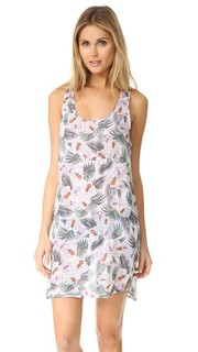Пляжное платье со спиной-борцовкой и цветочным принтом Surf Bazaar