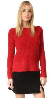 Уютный пуловер с открытым вырезом ATM Anthony Thomas Melillo