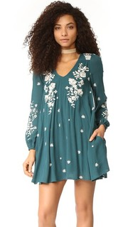 Очаровательное мини-платье Tennessee с вышивкой Free People