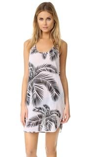 Платье с принтом в виде пальм Surf Bazaar