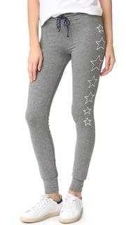 Спортивные брюки-скинни со звездами Sundry