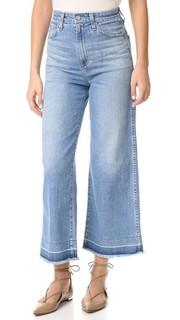 Широкие джинсы до щиколотки Yvette AG