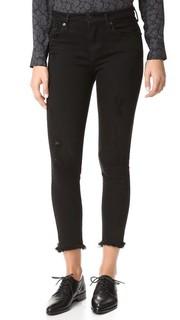 Укороченные джинсы Sophie с высокой посадкой Agolde