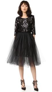 Платье с блестками и тюлем Loyd/Ford