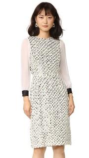 Платье из тюля с блестками Rodarte