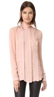 Блуза с изящными складками Nicholas