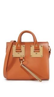 Объемная сумка с короткими ручками Box Sophie Hulme
