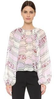 Блуза с длинными рукавами Giambattista Valli