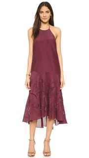 Расклешенное платье Tibi