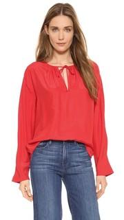 Блуза Le с рукавами реглан Frame