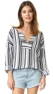 Блуза Celestia с вертикальными полосками Velvet