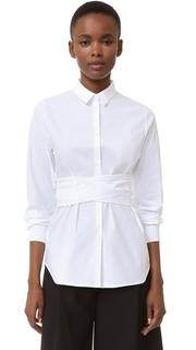 Блуза с запахом Rochas