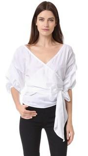 Рубашка Salo с запахом MLM Label