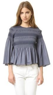 Блуза со сборками See by Chloe