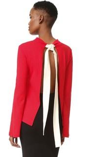 Блуза с открытой спиной Jacquemus