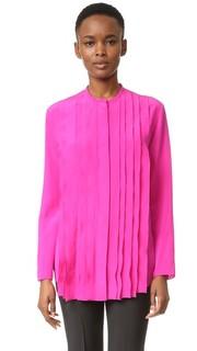Блуза со складками спереди Nina Ricci