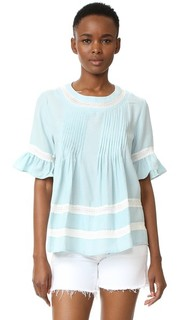 Кружевная блуза Boho English Factory