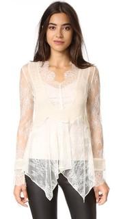Кружевная блуза Haute Hippie