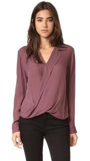 Драпированная блуза Rita Lagence