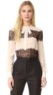 Блузка с воротником-галстуком Philosophy di Lorenzo Serafini