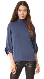 Блуза Cosmo с завязками на рукавах Just Female