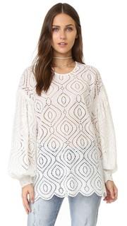 Блуза с вышивкой Karmic Zimmermann