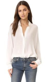 Шелковая блуза Vince