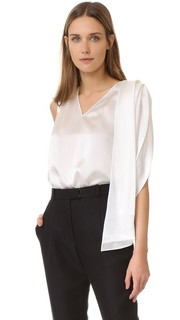 Блуза без рукавов Zac Posen