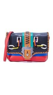 Миниатюрная сумка через плечо Sylvie Paula Cademartori