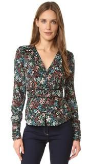Богемная блуза с рюшами Ripley Veronica Beard