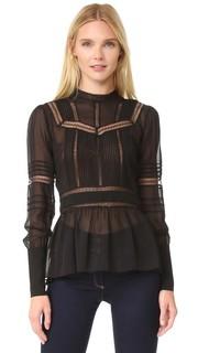 Кружевная блуза Lakewood в викторианском стиле Veronica Beard