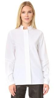 Блуза Eryx из ткани в рубчик Zeus+Dione